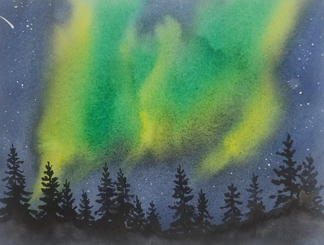 Edmonton Academy of Music Hosts  Water Colour Workshops!!