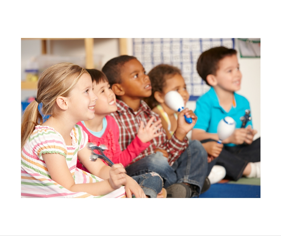 Musical Adventures for 3-4 yr. Spring Session.